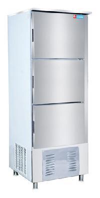 Triple Door Vertical Deep Freezer