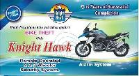 Remote Operated Two Wheeler Security System