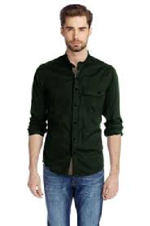 Mens Mandarin Collar Shirts