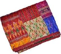Patola Silk Patch Work Kantha Sofa