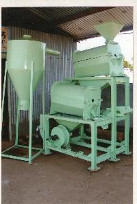Maize Polishing Machine
