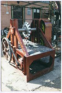 Wood Shearing Machine