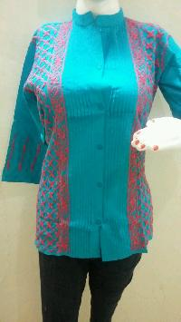 Short Chikan Cotton Kurtis