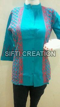 Short Chikan Cotton Kurtis