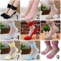 Womens Imported Fancy Socks