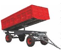 4 Wheel Hydraulic Tipping Trailer