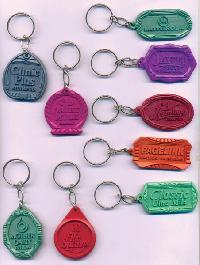 Plastic Moulded Keyrings
