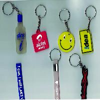 Promotional Silicone Keychains