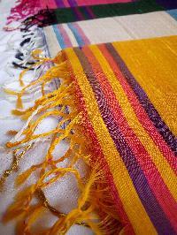 Dupion Printed Silk Sarees