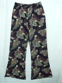 Ladies Cotton Printed Trousers