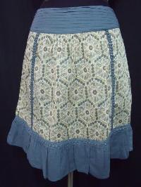 Printed Ladies Short Skirts