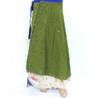 Ladies Silk Wrap Skirt
