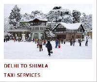 taxi rent Delhi to Shimla Service Provider