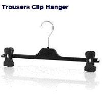 Trousers clip hanger