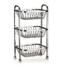 stainless steel fruit trolleys
