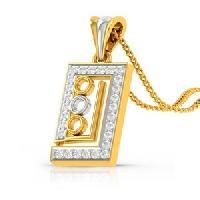 Get Your Glow Diamond Gold Pendant