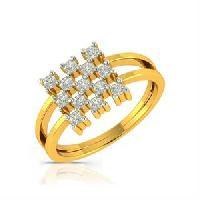 Highland Glam Diamond Gold Ring