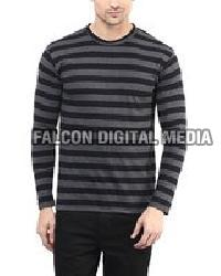 Mens Round Neck Full Sleeves T-shirts