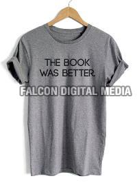 Mens Round Neck Printed T-shirts