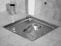 stainless steel lavatory pans