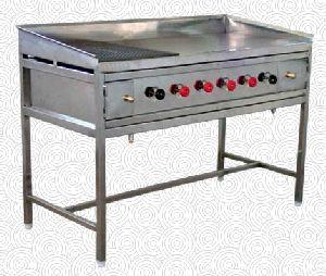Gas Hot Plate Cum Griddle Plate