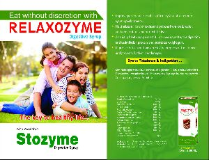 Relaxozyme Digestive Syrup