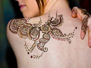 Henna for Body Art Tattoo