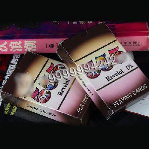 Narrow Regular Index Gamble Props Paper Revelol Dx Playing Cards