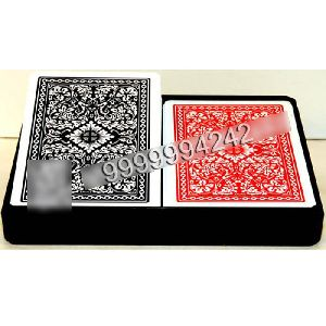 Two Jumbo Index Royal Plastic Playing Cards