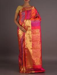 Jari Work Silk Saree