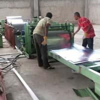 Automatic Galvanized Sheet Cutting Machine