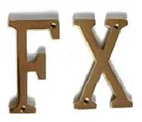 Brass Alphabets
