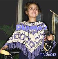 Crochet Poncho  Pnc012