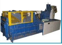 Double Compression Scrap Balers