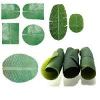 Artificial Paper Banana Leaf