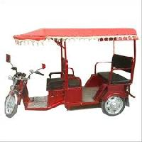 Solar Operated Rickshaws
