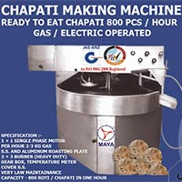 Presssing Type Chapati Machine