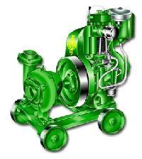 Air Cooled Pump Set