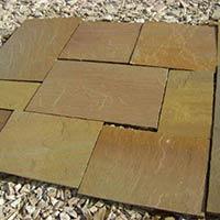 Desert Yellow Sandstone Pavings