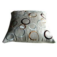 Suede Embroidered Cushions