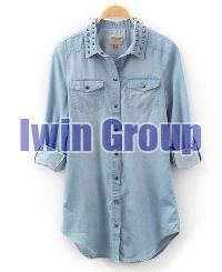 Ladies Denim Shirts