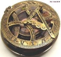 Brass Gilbert Sundial Compass