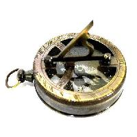 Brass Nautical Sundial Compass