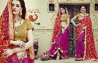Bandhej Designer Sarees 3207