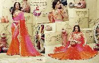 Bandhej Designer Sarees 3208