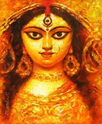 Durga Maa Oil Paintings