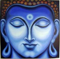 Gautam Buddha Oil Paintings