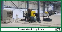 Floor Working  Air Handling Unit