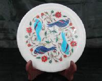 Marble Inlay Decorative Plates