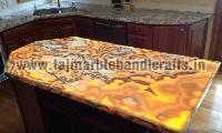 Marble Inlay Counter Table Top